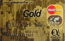 Description: Advanzia MasterCard Gold