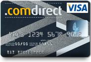 Description: comdirect Visa Karte